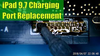 iPad 9.7 Charge Port Replacement