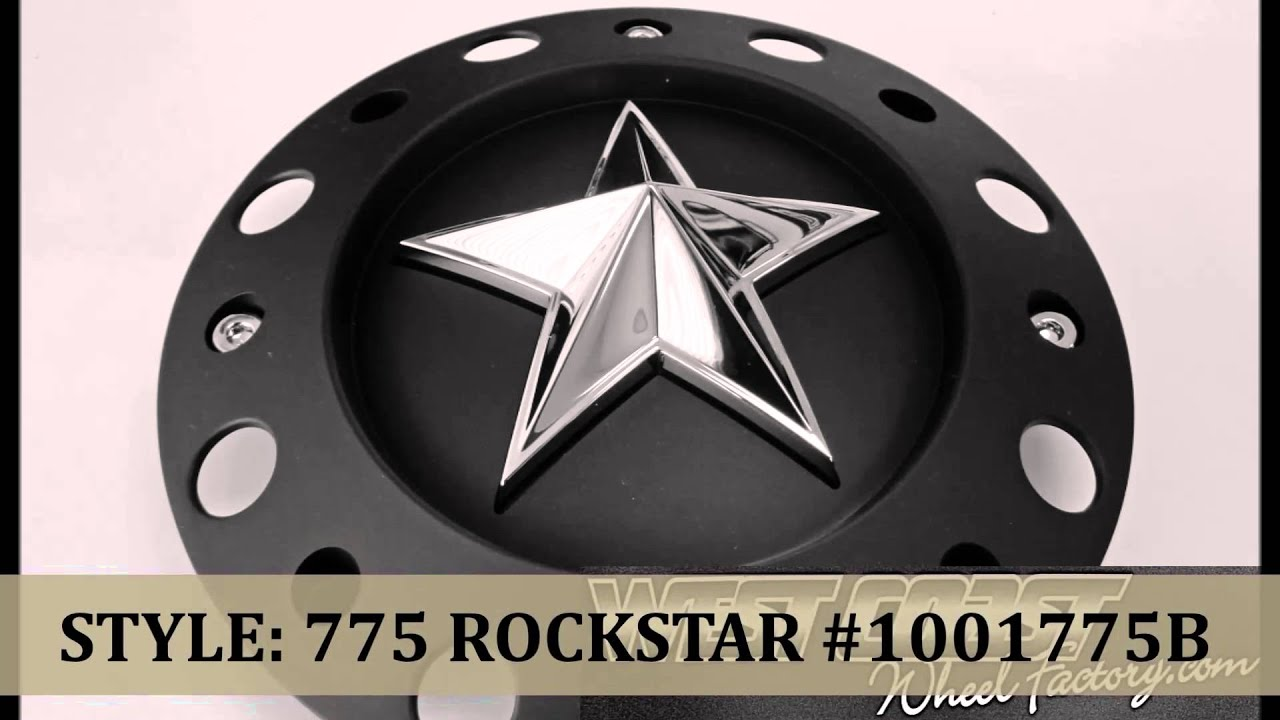 34442ed04 XD-SERIES WHEEL CENTER CAPS @ WEST COAST WHEEL FACTORY RIM REPLACEMENT  COVERS BEST PRICES ROCKSTAR