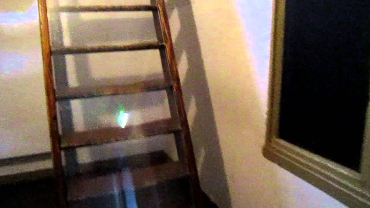 Anne Frank House Staircase to Attic - YouTube