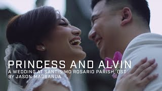 Princess and Alvin: A Wedding at Santisimo Rosario Parish, UST