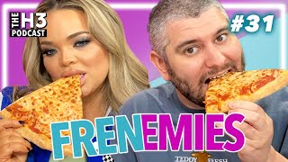 Khloe Kardashian Photo Drama & Pizza Eating Contest - Frenemies # 31