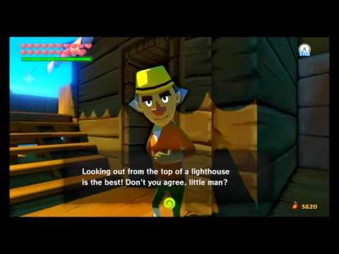 The Legend Of Zelda: The Wind Waker HD - Sidequest #11: Lighthouse Lighting
