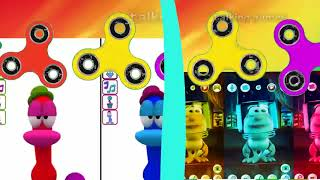 Baby Colors Spiner with talking Booba Colours for Kids Animation  Game My Pato and Pocoyo