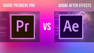 Adobe Premiere Pro VS After Effects CC: What's the difference & How to Work Dynamically between them