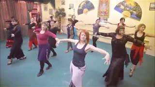 Класс фламенко, Студия танцев Ирины Козыревой