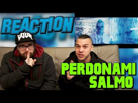 SALMO - PERDONAMI (Prod. tha Supreme) | RAP REACTION 2017 | ARCADE BOYZ