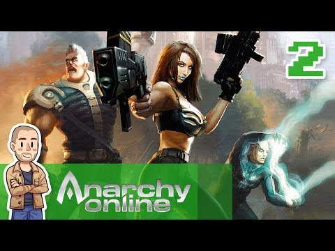 Anarchy Online Gameplay Part 2 – Espionage, Assassination & Theft – MMO Let's Play