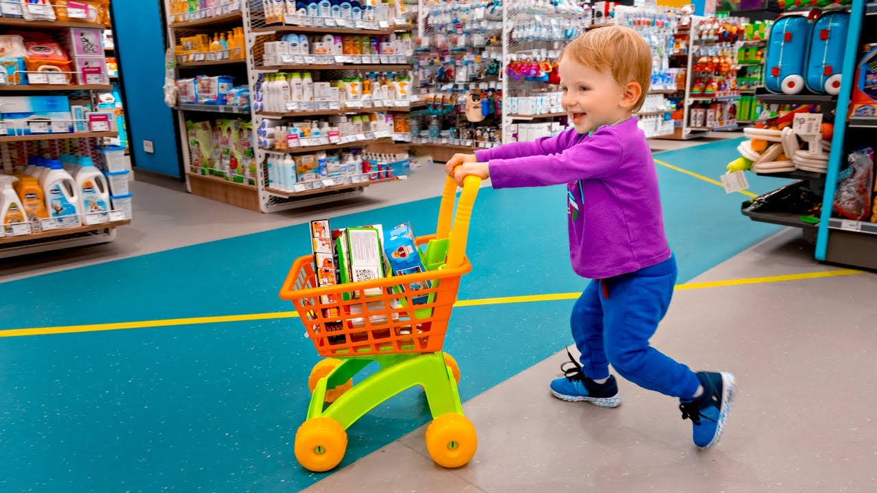 Five Kids Let's go shopping + more Children's Songs and Videos