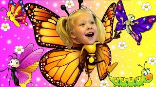 LEARN COLOR WITH BUTTERFLY BeeBeeDi