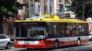 Test drive, yangi trolleybus