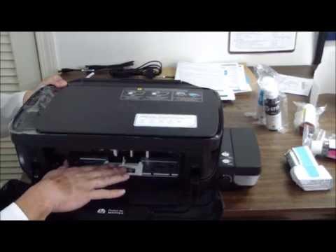 HP Deskjet GT 5820 Unboxing & Setup