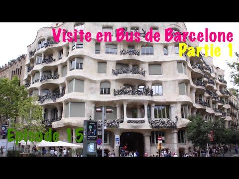 Ep 15 - Barcelona Bus touristic - Visite de Barcelone en bus - Partie I