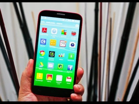 Alcatel Onetouch Pop S9 Hands-on