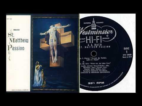 Bach: St. Matthew Passion (1), Hermann Scherchen, Vienna 1953