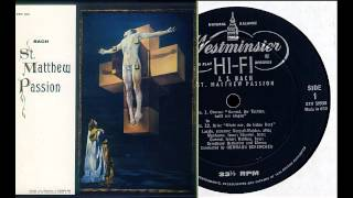 Bach: St. Matthew Passion (1), Hermann Scherchen, Vienna 1953