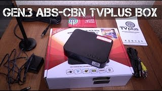 New ABS-CBN TV Plus black box