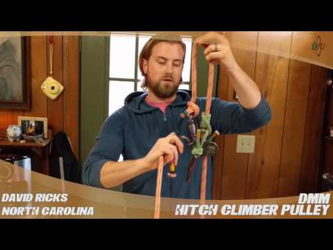 DMM Hitch Climber Pulley - TreeStuff.com Customer David Ricks' Review In The Field