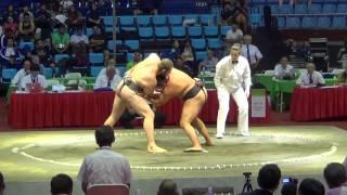 Сумо.Чемпионат мира по Сумо 2014 ( RUS vs. BUL)