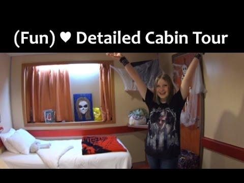 Carnival Fantasy Cabin Tour Youtube