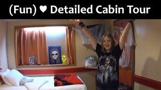 Carnival FANTASY Cabin Tour!