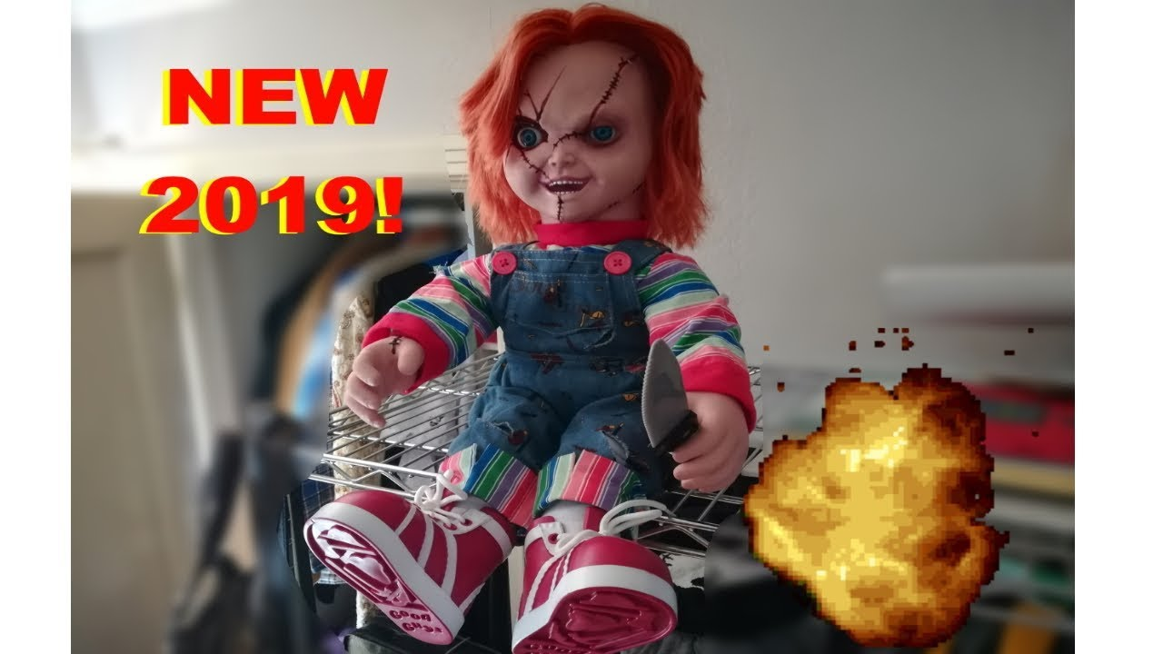New Spencer S Spirit Animated Chucky Doll Showcase
