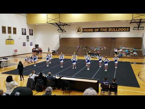 Ida Middle School at Adrian College Competitive Cheer