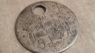 Metal Detecting Dead mans TOE TAG