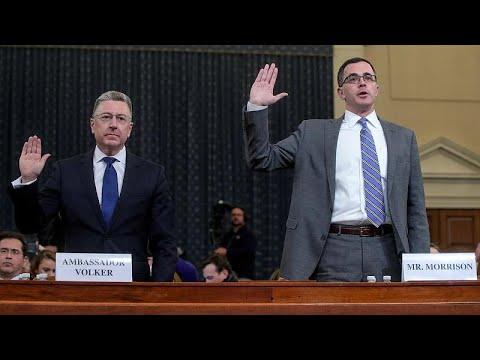 شاهدان أمام الكونغرس: ما ورد في مكالمة ترامب مع رئيس أوكرانيا أثار قلقنا…  - نشر قبل 26 دقيقة