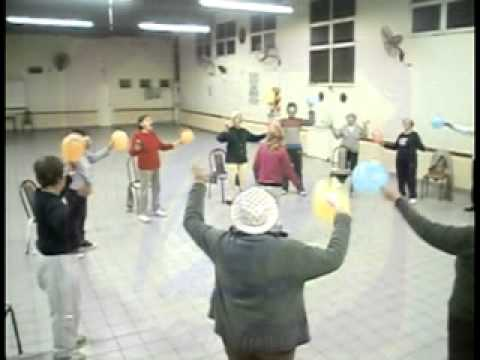 Canuelas Gimnasia Adultos Mayores Profe Marita Bustos Youtube