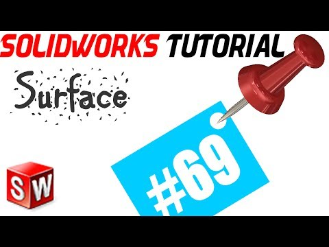 SolidWorks 2014 Surface Tutorial 69: Revolve Surface