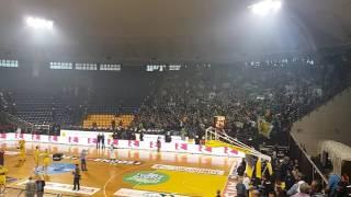 Τελικός Άρης - Παναθηναϊκός: Σε έκσταση οι οπαδοί των δύο ομάδων - Voria.gr