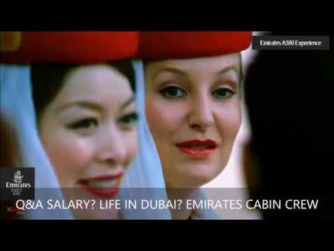 Emirates Cabin Crew Salaries & Interview Questions ::  #emirates-cabincrew-salary