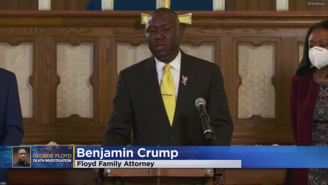 George Floyd Family's Lawyer: Independent Autopsy Determines Floyd Died Of Asphyxiation