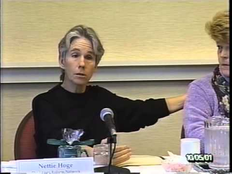 13th Envisioning California Conference 2001: Panel 2/5 - The Human Face of the Energy Crisis