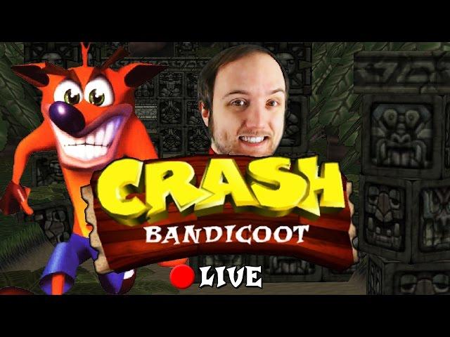 Crash Bandicoot - LIVE - 100%