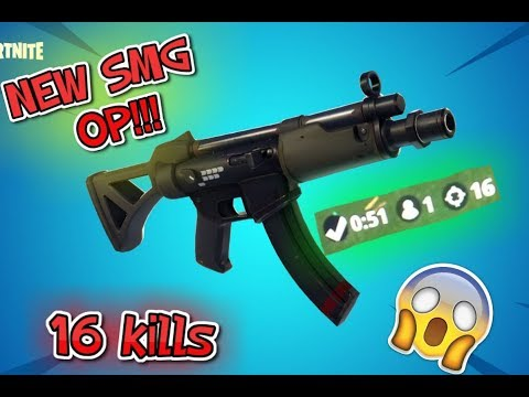 NEW MP5 IS OP![16 KILLS](FORTNITE XBOX)