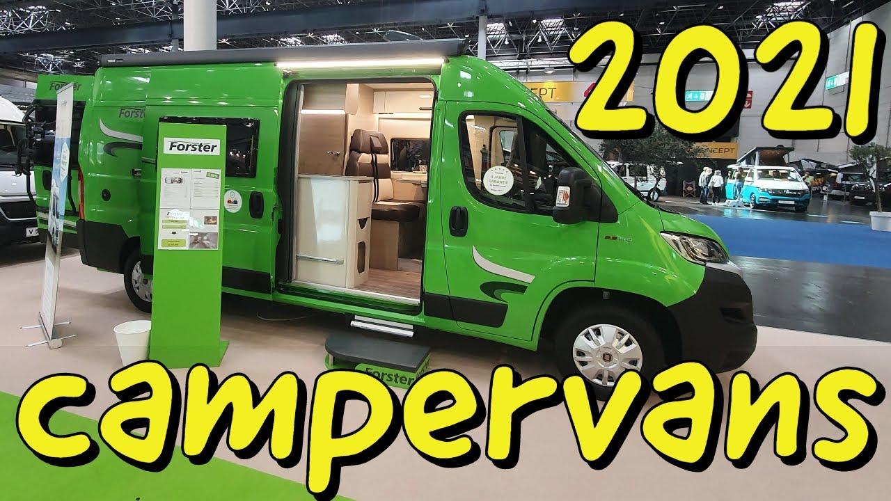 Camper vans at Caravan Salon, Dusseldorf - YouTube