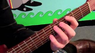 January 2013 - Dig a Pony - Intro and Outro - Lick of the Month - NYC Guitar School Lesson