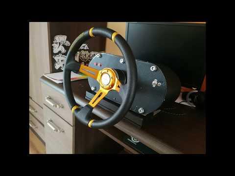 Kierownica Do Komputera PC Arduino Leonardo FFB Sterring Wheel