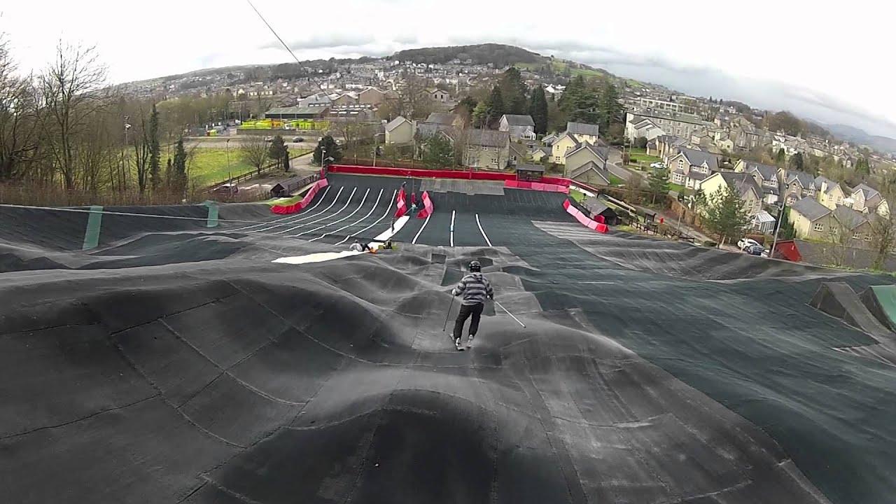 a saturday at kendal dry ski slope