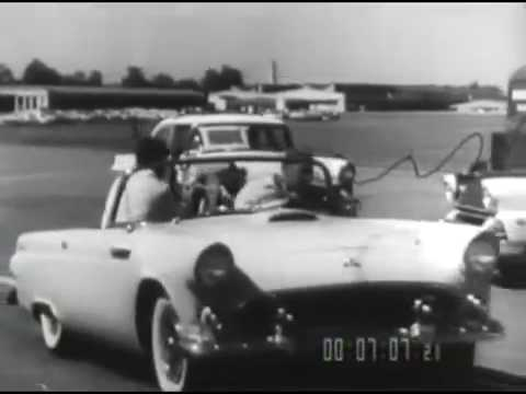 Crash and Live 1956 - Safety Features of Ford Motor Company Cars
