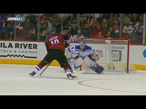 Lundqvist, Zibanejad edge Rangers past Coyotes in SO