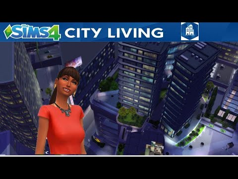 Designing Apartment with CITY LIVING EXPANSION PACK - THE SIMS 4  