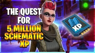 The Quest For 5 Million Schematic xp (Fortnite save the world)Round 2