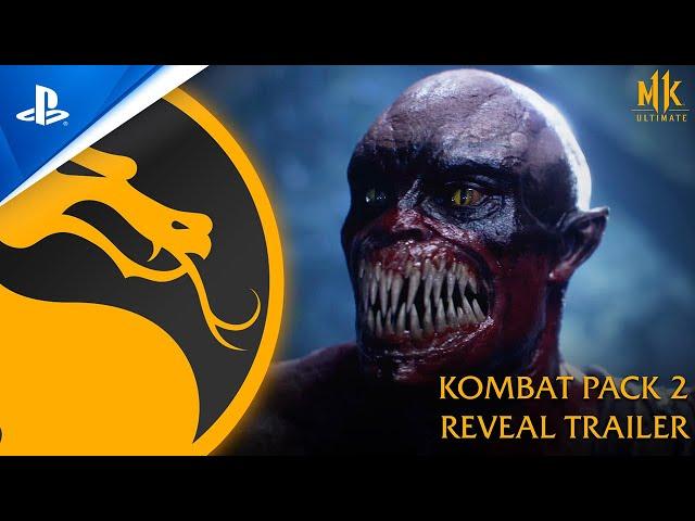 Mortal Kombat 11 Ultimate - Kombat Pack 2 and Reveal Trailer | PS4, PS5