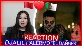 Djalil Palermo - El Danger (Official Music Video) (Reaction)