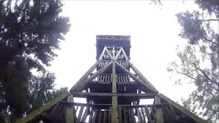 """Aussichtsturm """"Langer Otto"""" in der Hahnheide, östlich von Hamburg und Trittau"""