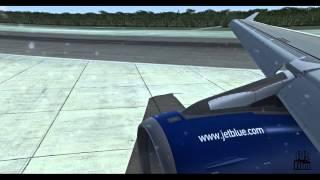 | FSX | Airbus X A320 Jetblue Airways Landing @ Cancun Airport