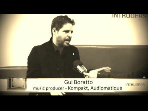 Gui Boratto about his beautiful and indie creative disease
