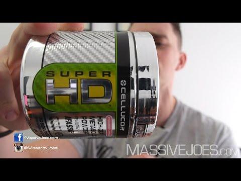 Cellucor Super-HD Powder Fat Burner Supplement - MassiveJoes.com RAW REVIEW SuperHD Loss Weight